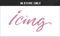 Buy Icing (In Store Only) Gift Card