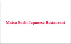 Sell Matsu Sushi Gift Card