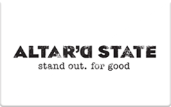 Altar'd State Gift Card - Check Your Balance Online | Raise.com