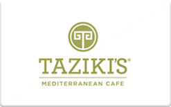 Sell Taziki's Gift Card