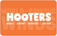 Buy Hooters Gift Card