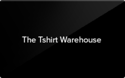 Sell The Tshirt Warehouse Gift Card