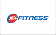Buy 24 Hour Fitness Gift Card