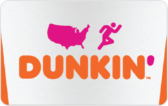 Sell Dunkin' Donuts Gift Card