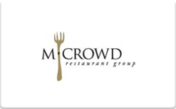 Buy MCrowd Restaurant Group Gift Card