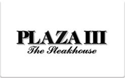 Buy Plaza III Steakhouse Gift Card