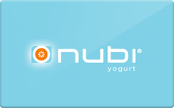 Buy Nubi Yogurt Gift Card