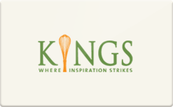 Sell Kings Food Markets Gift Card