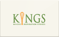 Buy Kings Food Markets Gift Card