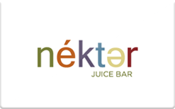 Sell Nekter Juice Bar Gift Card