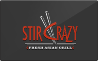 Buy Stir Crazy Gift Card