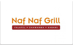 Buy Naf Naf Grill Gift Card