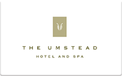 Sell The Umstead Hotel and Spa Gift Card
