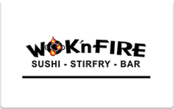 Sell WOK'n FIRE Gift Card
