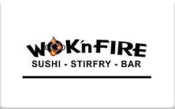 Buy WOK'n FIRE Gift Card