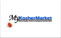 Sell MyKosherMarket.com Gift Card