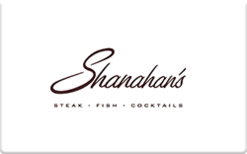 Buy Shanahan's Steakhouse Gift Card