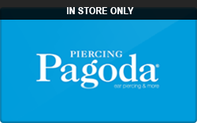 Buy Piercing Pagoda (In Store Only) Gift Card