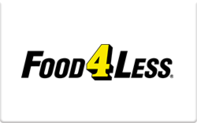 Buy Food 4 Less Gift Card