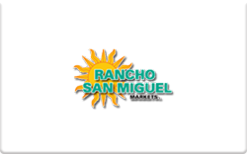 Sell Rancho San Miguel Gift Card