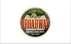 Buy Broadway Brewery Gift Card