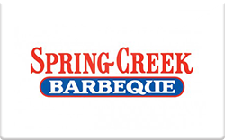 Spring creek barbecue gift cards