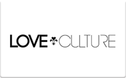 Sell Love Culture (Online Only) Gift Card