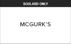 Sell McGurk's (Soulard Only) Gift Card