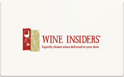 Sell Wine Insiders (Promotional) Gift Card