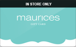 Sell Maurices (In Store Only) Gift Card