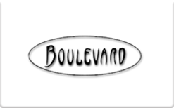 Sell Boulevard Restaurant Gift Card