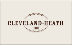 Sell Cleveland-Heath Gift Card