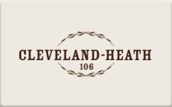 Buy Cleveland-Heath Gift Card