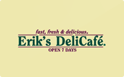Sell Erik's DeliCafe Gift Card