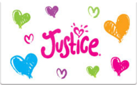 Buy Justice Gift Card