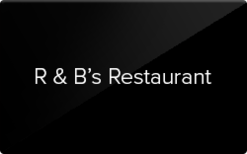 Sell R & B's Family Restaurant Gift Card