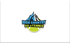 Sell High Country Ski & Tennis Gift Card