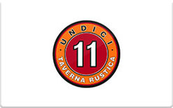 Buy Undici Taverna Rustica Gift Card