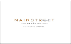 Buy Mainstreet Ventures Gift Card