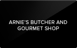 Sell Arnie's Butcher & Gourmet Shop Gift Card