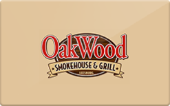 Sell OakWood Smokehouse Gift Card