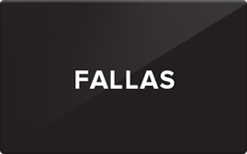 Sell Fallas Gift Card
