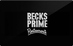 Buy Becks Prime Gift Card