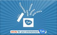 Buy f.y.e. Gift Card