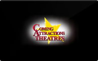 Buy Coming Attractions Theatres Gift Card