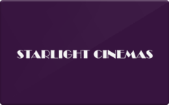 Sell Starlight Cinemas Gift Card