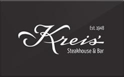 Sell Kreis' Restaurant Gift Card