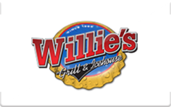 Sell Willie's Grill & Icehouse Gift Card