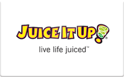 Sell Juice It Up Gift Card