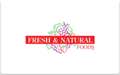 Sell Fresh & Natural Foods Gift Card